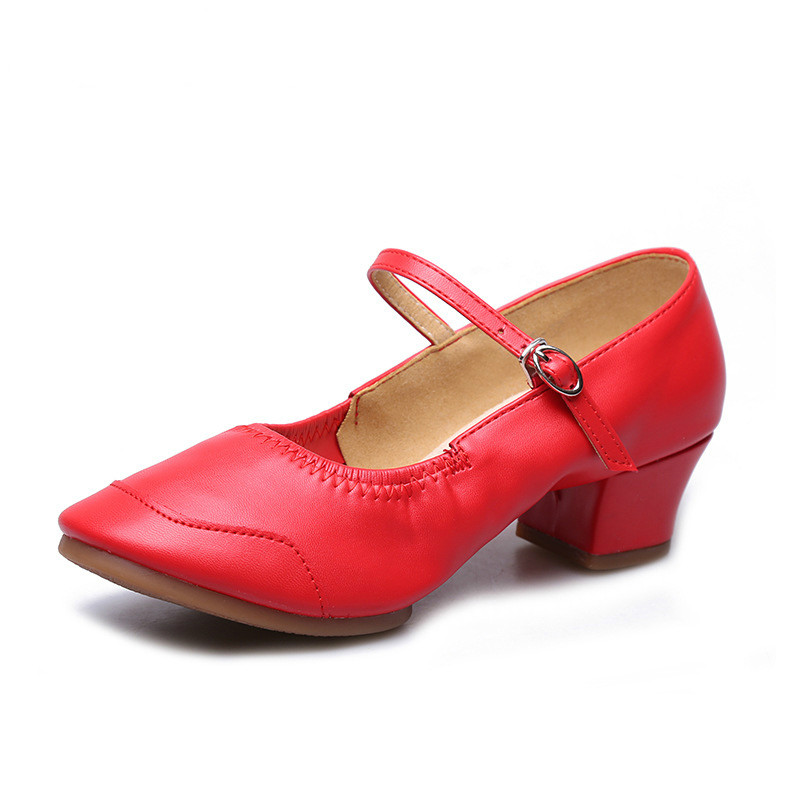Sports Square Dance Shoes Split Soles Sneakers For Woman