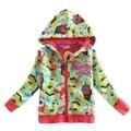 CARBÓN verde Cazadora abrigos chaquetas para niños de Los Niños Abrigos Niños Ropa kinderkleding meisjes chaqueta del bebé del invierno