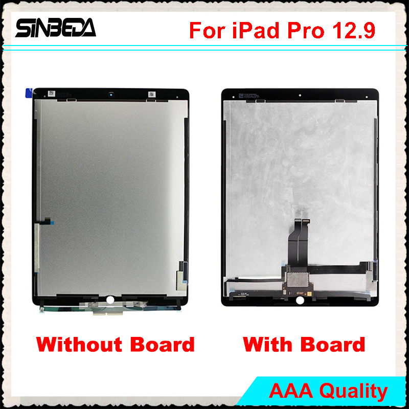 Sinbeda For iPad Pro 12.9 LCD Display Touch Screen Digitizer Assembly Replacement For iPad Pro 12.9 A1652 A1584 With BoardSinbeda For iPad Pro 12.9 LCD Display Touch Screen Digitizer Assembly Replacement For iPad Pro 12.9 A1652 A1584 With Board