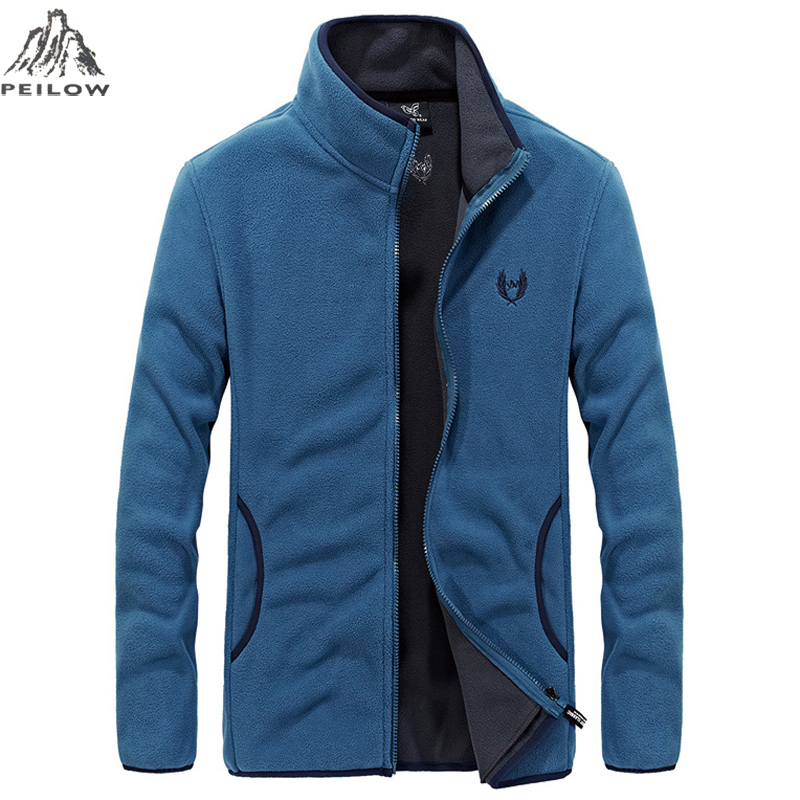 Spring Autumn Mens Soft Shell Fleece Jackets And Coats Slim Fit Bomber Jackets Outwear Windbreaker Jaqueta Masculina Size L~8XL