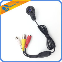 Mini AHD Analog High Definition Surveillance 1 7mm Wide Angle 940nm IR Micro Audio Camera 1200TVL