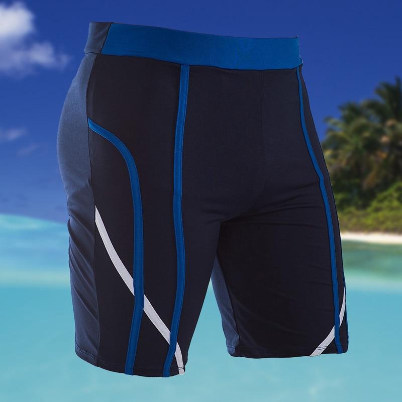 Swim Trunks Briefs Short Sport-Wear Beach Mens Nylon Man Print Flats Leisure Quick-Dry