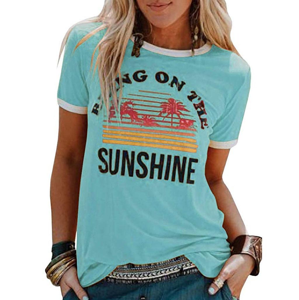 2019 Summer Hot Women shirt Women's T-Shirts