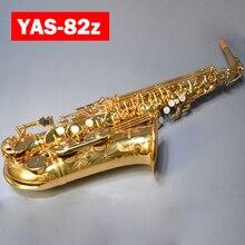 Япония YAS-82z новый пользовательский Саксофон альт золотой лак Латунные Инструменты Профессиональный мундштук для саксофона гобоя с случае & аксессуары