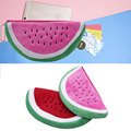 Women Girl Cute Cartoon Fruit Watermelon Coin Makeup Bag Pencil Case Wallet
