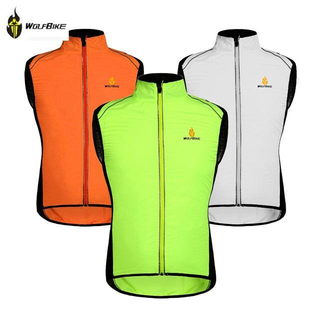 42669af82 WOLFBIKE Cycling Jersey Men Riding Breathable Vest Jacket Hiking Bicycle  Cycle Clothing Bike Sleeveless Vest Wind Coat Jacket