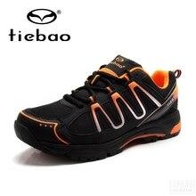 Tiebao Winter Radfahren Ausrüstung Hohe Hilfe Road Racing MTB PVC Sohlen Mountainbike Schuhe TB22 B1285 Triatlon Zapatillas Ciclismo
