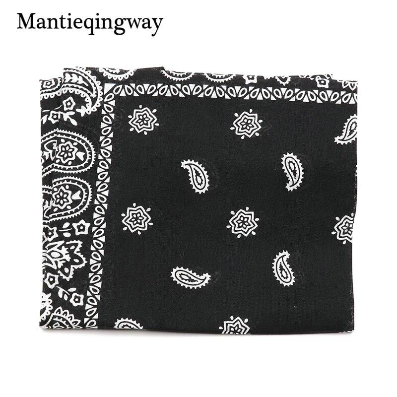 Mantieqingway New Arrivals Cotton Print Cashew Flowers Handkerchief For Men Weddding Chest Towel Men's Accessories Hanky Suits