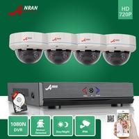 ANRAN 4CH HD 1080N HDMI AHD DVR 720P CCTV Day Night 500GB HDD Home Security Camera