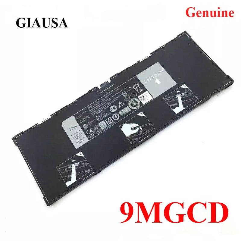 Подлинная 9MGCD батарея для ноутбука GIAUSA для Dell Venue 11 Pro (5130) 9MGCD XMFY3 312-1453 VYP88