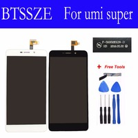 High Quality Lcd Display Touch Screen Glass Panel Sensor Digitizer Replacement Assembly For Umi Super F