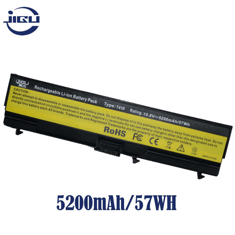 JIGU Laptop Battery For Lenovo ThinkPad L510 L512 L520 T410 t420 i k l  SL510 SL410 2842 2874 SL510 2847 2875 W510 W520