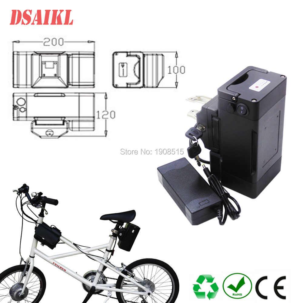 Seat post mounting fro g battery case 24V 36V empty battery case