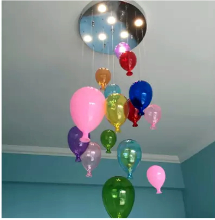 room lights chandelier nordic personality fantasy dining creative bedroom glass living simple modern children