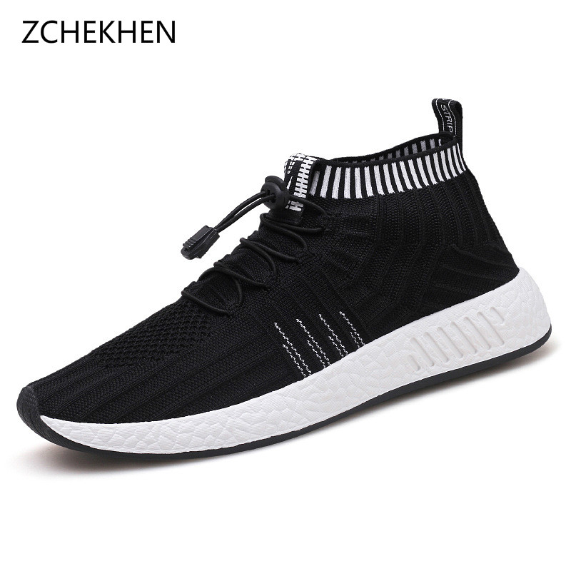 Breathable Men Casual Shoes Woven Shoes Men Sneakers Fashion Trainers For Men Flats Casual Shoes Tenis Masculino Adulto new golf shoes men genuine leather sneakers tenis masculino breathable trainers male shoes footwear zapatillas hombre deportiva
