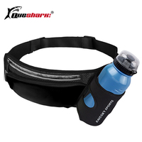Running   Marathon Waist Bag Sports Climbing Hiking Racing Gym Fitness Lightweight Hydration Belt Water Bottle Hip Waist Pack