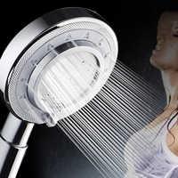 Aluminium Metall Dusche Kopf Handheld Booster Hochdruck Showerhead Regen Dusche Düse Waschbar Bad Spray Sprinkler