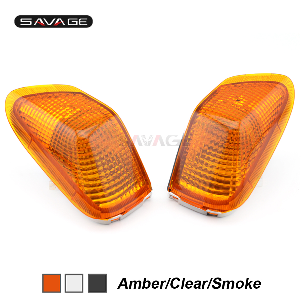 Front Turn Signal Light Lens For KAWASAKI ZZR400 ZZ-R ZZR 400 1990 1991 1992 1993 Indicator Lamp Cover Motorcycle Accessories