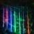 Coversage Meteoro Tubes Chuveiro de Chuva Led Casamento Decoração Cortina Guirlanda Árvore de Natal Lumineuse Guirlande À Prova D' Água Ao Ar Livre