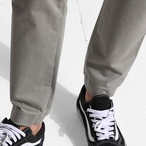 Image 5 - SIMWOOD 2020 mode Cargo pantalon hommes fermeture éclair poche cheville longueur Streetwear pantalon tactique Hip Hop marque vêtements 180425