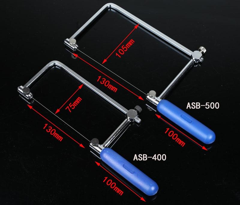 цена на Coping Saw Diamond Wire Saw Frame Jade Metal Wire Saw Blade Cutting Tool