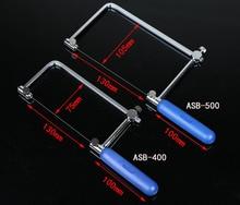 Купить с кэшбэком Coping Saw Diamond Wire Saw Frame Jade Metal Wire Saw Blade Cutting Tool