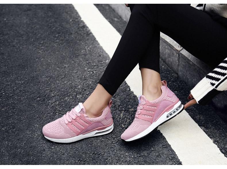 exército respirável malha esporte sapatos masculinos femininos tênis rosa