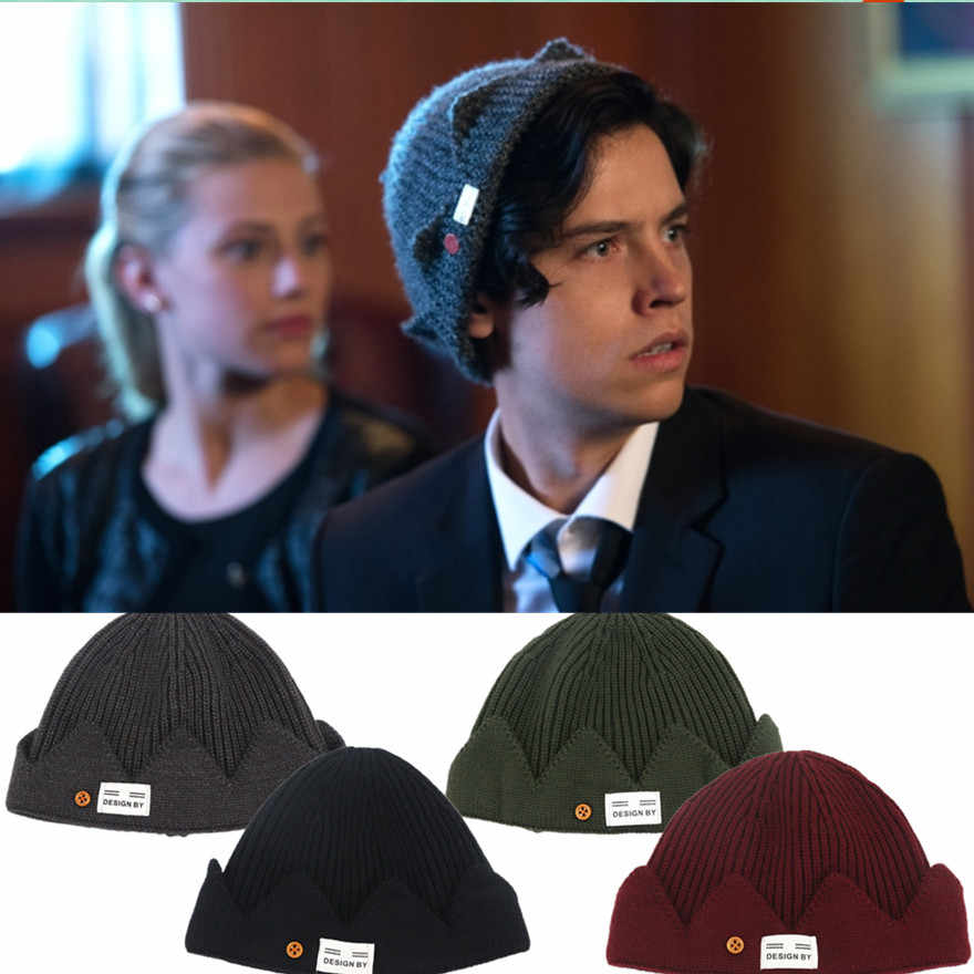 Riverdale Jughead Jones Winter Warm Hat Exclusive Theme Five Colors Crown Cap Fans Lovely Gift Halloween Cosplay Pros