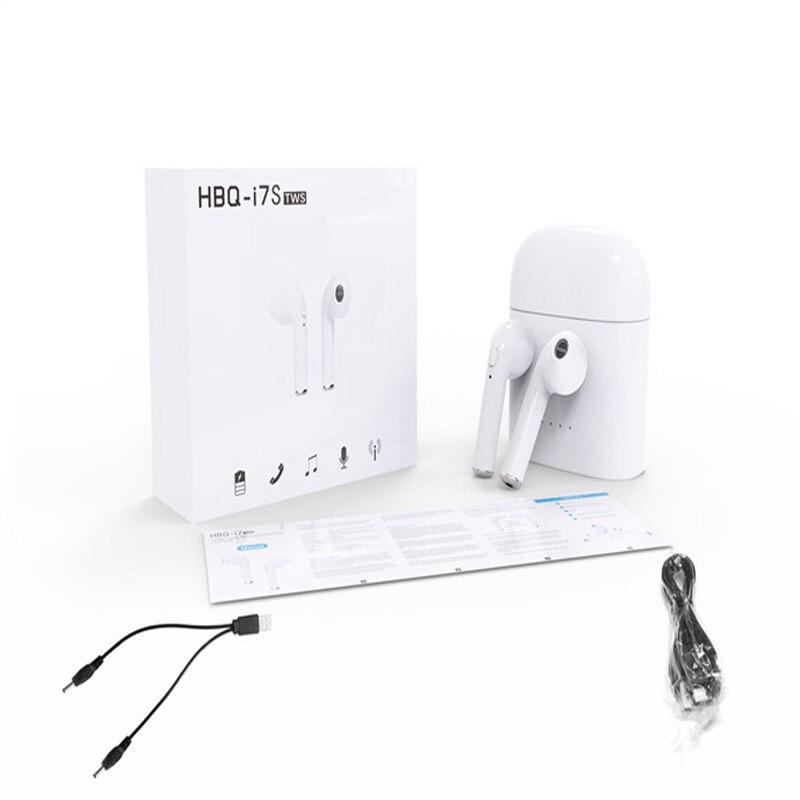 Mini TWS I7 Écouteurs Ture Sans Fil Bluetooth Écouteurs Doubles Jumeaux écouteurs Stéréo Musique Casque Pour Apple iPhone 6 7 8 Plus