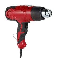 цена на Adjustable Heat Gun Electric Hot Air Gun Temperature-controlled Industrial hair dryer Soldering Dual power Tool AC220V