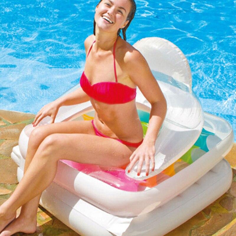 Nouveauté INTEX eau salon eau canapé 198*94 cm air matelas eau jeu jouet relaxant B39005 - 4