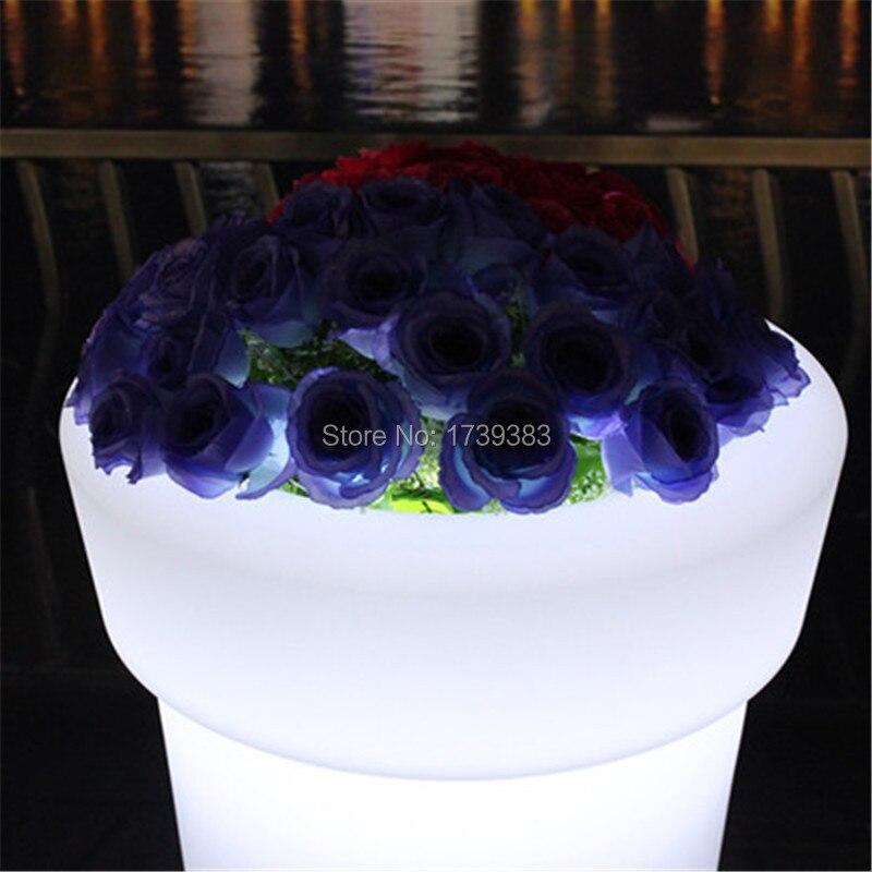 X-POT H96 High Tower Round LED Flower Pot (3)
