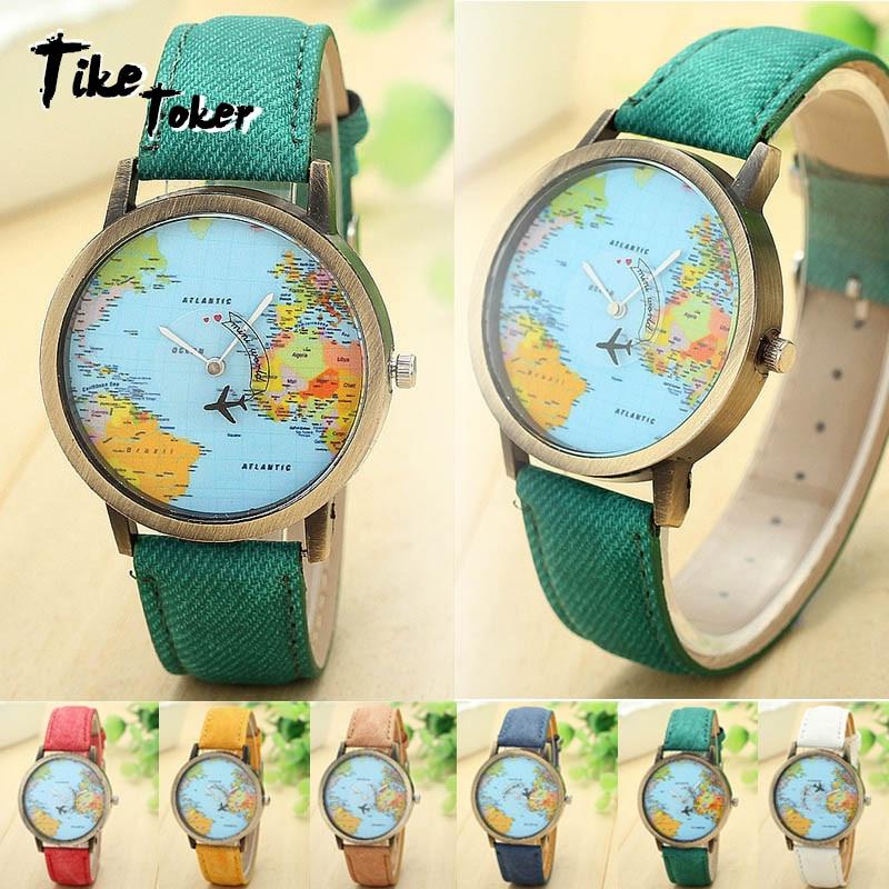 TIke Toker Fashion Global Travel By Plane Map Men Women ...