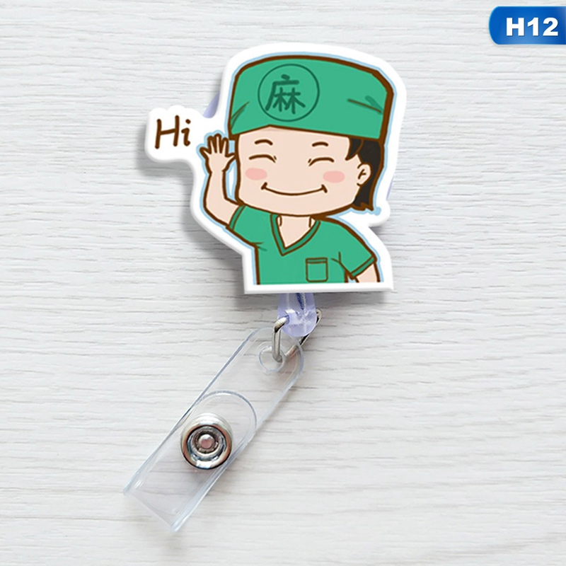 Super Mario Doctor Name Badge Holder