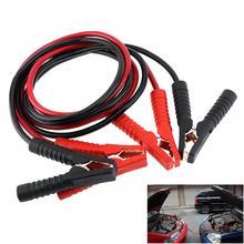 2,5 м 500A 10 мм Прочный Медь одетый Алюминий аварийного автомобиля зажигания скачок стартер ведет Wire Батарея Booster кабель