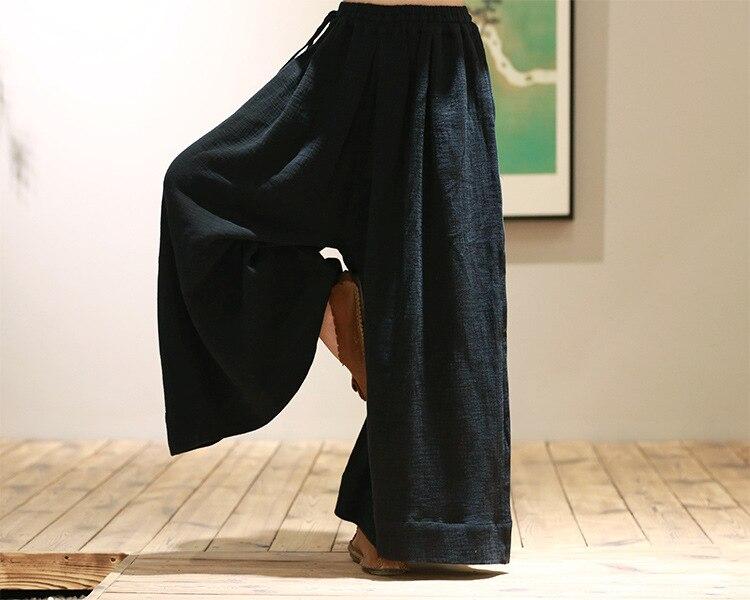 Floja Otoño 17508 Y Loos Las Fluido Invierno 2015 Mujeres De Pierna Pantalones 6 Gruesas Ancha Sx1BEaqn7