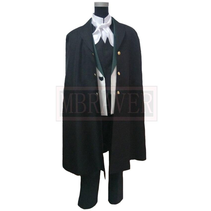 Bungo Stray dogs Season 2 Edgar Allan Poe Cosplay costume All Sizes COSYT Made