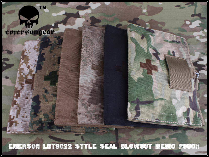 EMERSON LBT9022 Style Seal Blowout Medic Pouch military army Utility Pouch MOLLE EM6058