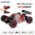 Alta Qualidade Do Carro Do RC 2.4G 1/18 Escala de Controle Remoto Off-road Alta Velocidade Racing Car rc carro elétrico de Brinquedo de Presente Para menino