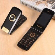 Роскошный флип металлический телефон для пожилых людей TKEXUN G9000 G3 большая звуковая большая клавиатура 1600 мАч фонарик bluetooth сотовый телефон для пожилых людей