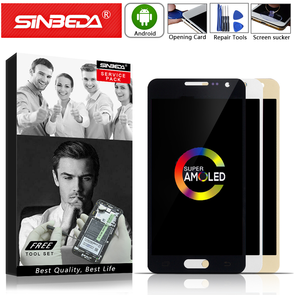 Super AMOLED Für Samsung Galaxy A300 LCD Display Touchscreen Digitizer Für SAMSUNG A3 2015 LCD A300H A300F A300 Display