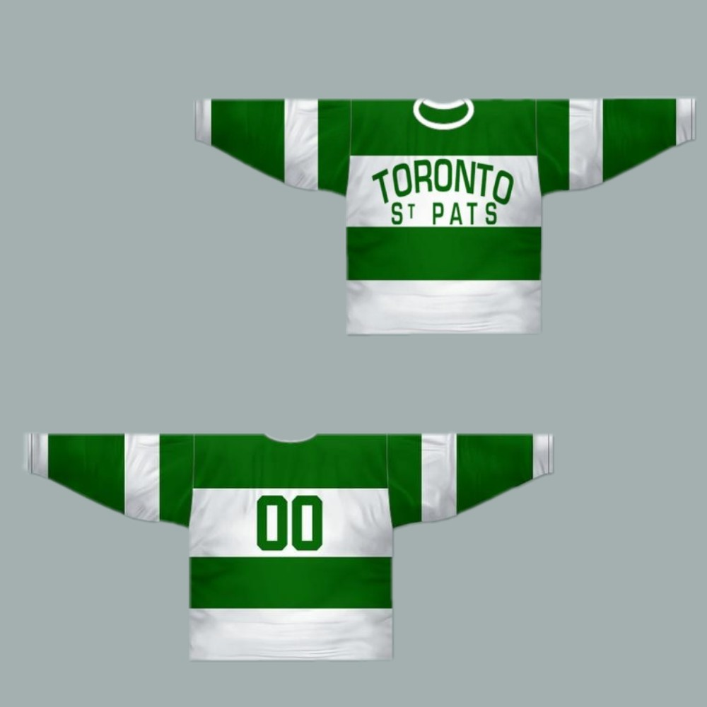 d1f9a2a0473 Men s Toronto St Pats 1919-22 Hockey Jersey Any Name or Number New Men s  Size M-XXXL Free shipping