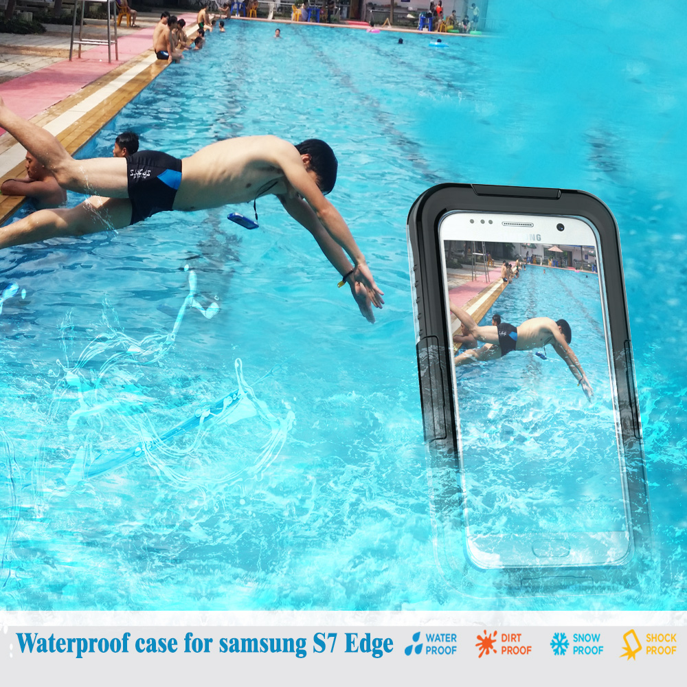 Buy s7 edge waterproof swimming dive case for samsung galaxy s7 edge case - Samsung dive app ...