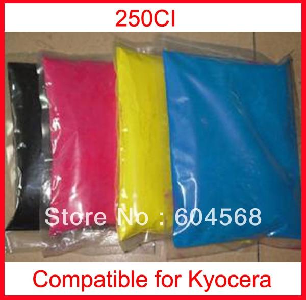 High quality color toner powder compatible kyocera 250ci Free Shipping high quality color toner powder compatible kyocera c5350dn free shipping