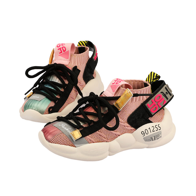 E ZELEVEN 2019 high quality latest design stylish children's shoes boys girls kids casual shoes kids sneakers