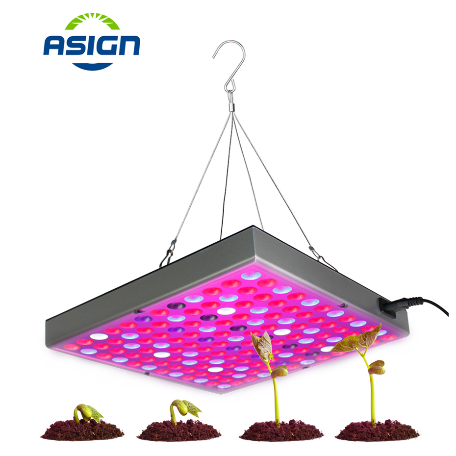 LED Phyto Lamp Full Spectrum Led Grow Light 45W 1500Lm Plant Growing Lamps Fitolampy For Plants Flower Greenhouse Hydroponic dc12v led lamps full spectrum led strip light smd5050 chip 5 meters led fitolampy grow lights for plants greenhouse hydroponic