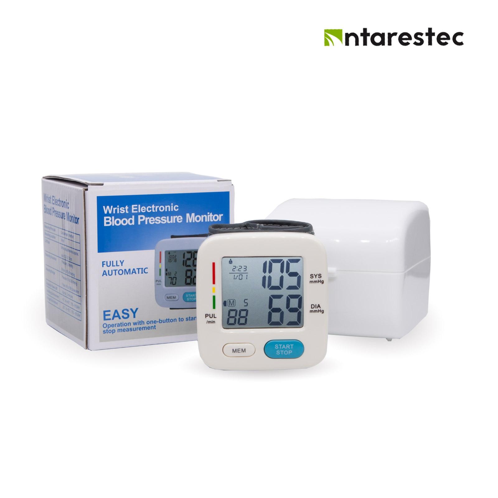 Handgelenk Blutdruck Monitor Meter Mess Herzschlag Rate Pulse Meter Messen LCD Digital Blutdruckmessgerät Antarestec PH30