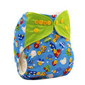 Washable Baby Cloth Diapers Nappy Cover Wrap Baby Boys Girls Print Reusable Baby Cloth Diapers couches lavables panal de tela