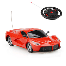 1:24 Electric RC Cars Driving Sports Drive Models Flash Lights Machines On The Remote Control Radio Toys