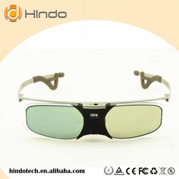3D aktywne okulary migawkowe DLP-LINK DLP LINK 3D okulary do projektora Optoma Sharp LG Acer do projektora BenQ W1070 żarówka jak 3D okulary tanie i dobre opinie shutter Brak Nie-Wciągające Okulary Tylko Lornetka RX30 HINDOTECH HD Black DLP LINK projector 96-144HZ 1000 1 Active shutter